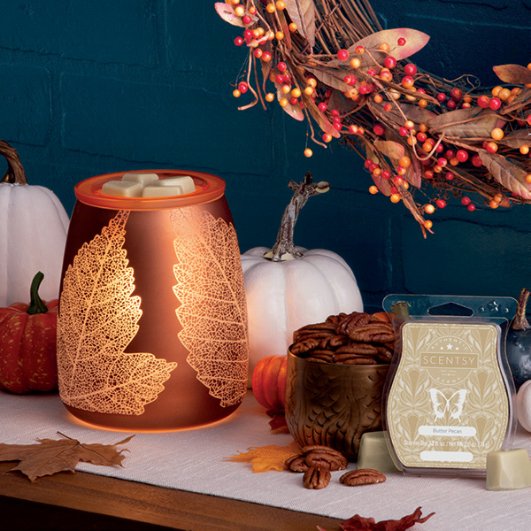 October Warmer and Scent of the Month